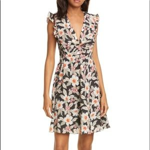 Rebecca Taylor Kamea Floral Dress. Size 0. NWT.